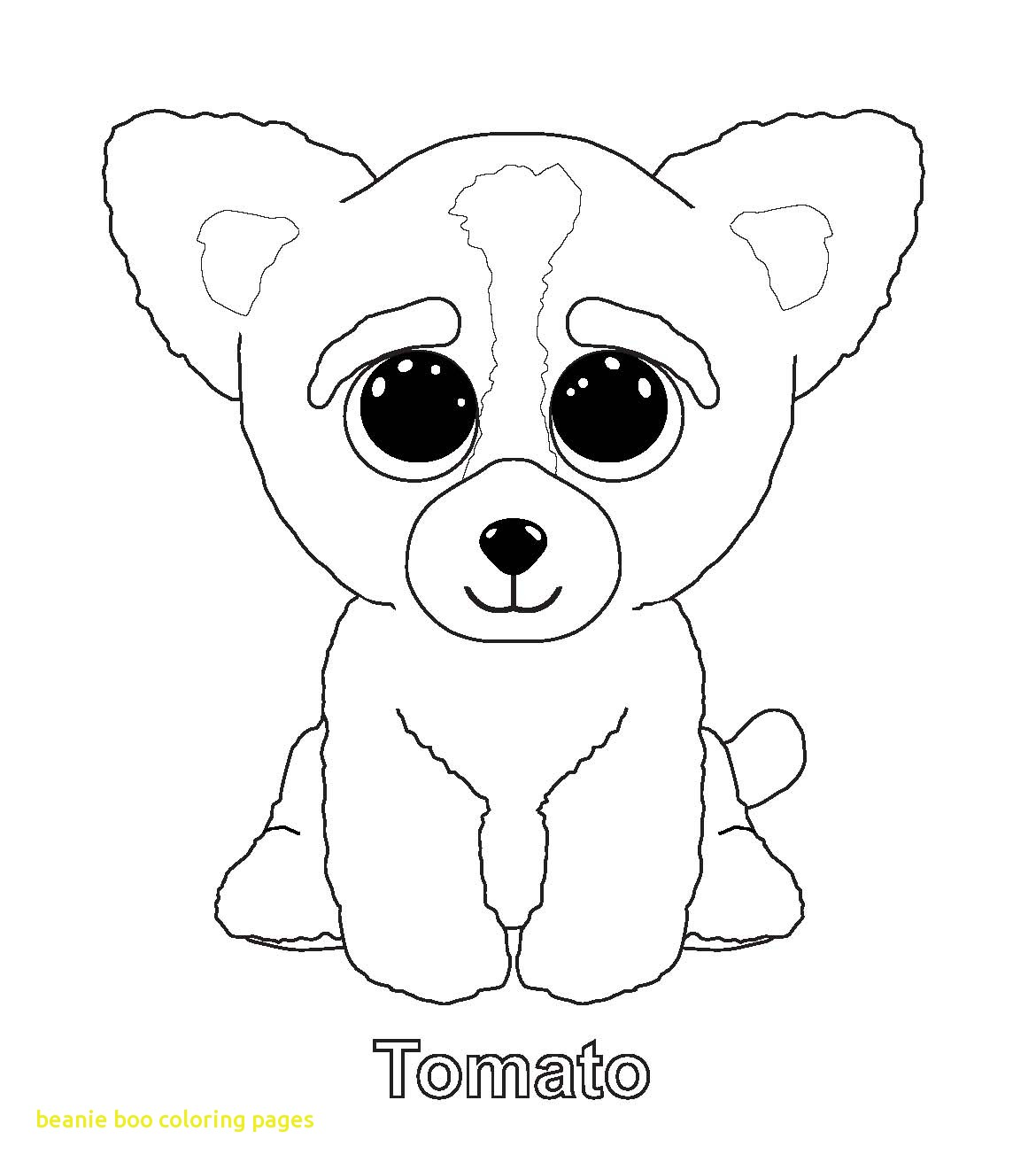 1170x1321 Beanie Boo Coloring Pages With Ty Art Gallery