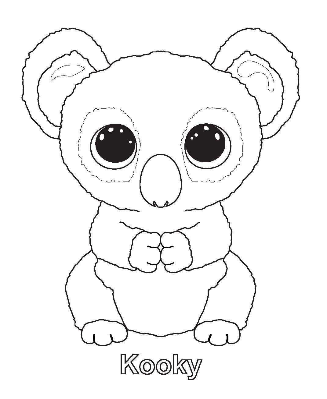 1071x1310 Ty Beanie Boo Coloring Pages Download And Print For Free Boos
