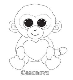 236x260 Ty Beanie Boo Coloring Pages Download And Print For Free C's Pet