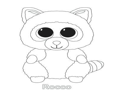 400x322 Beanie Boo Coloring Pages