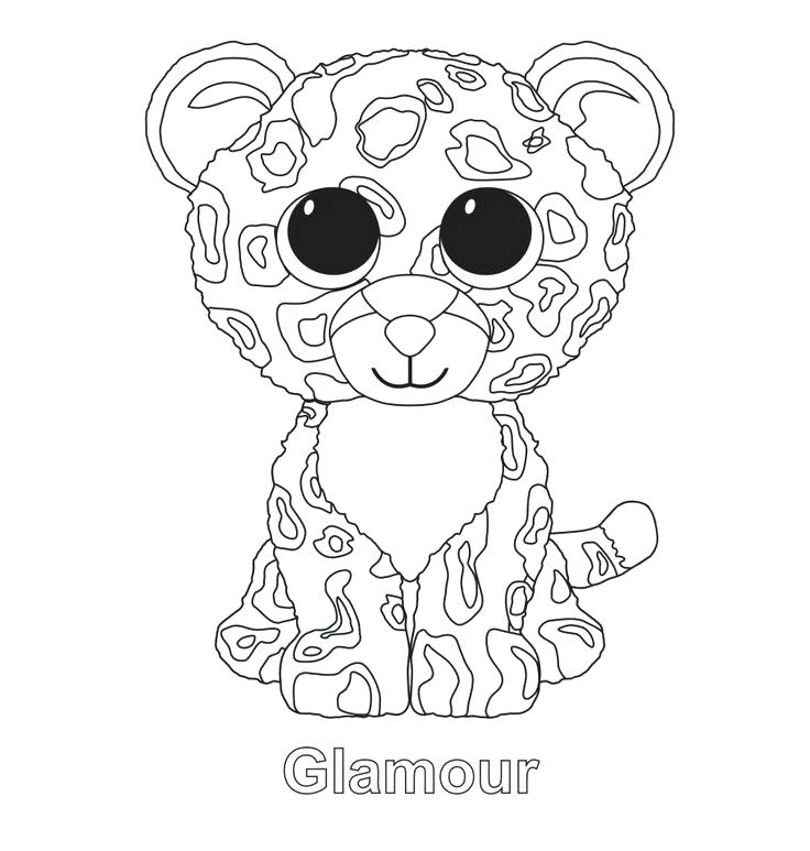 736x773 Beanie Boo Coloring Pages Beanie Boo Coloring Pages Free Printable