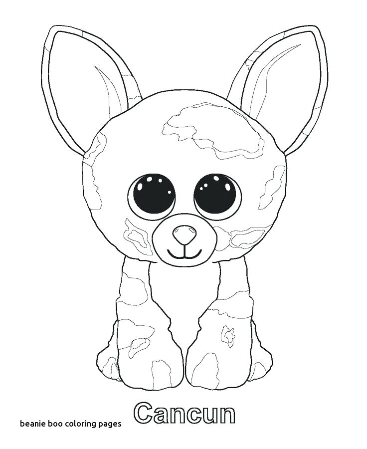 736x900 Beanie Boo Coloring Pages Beanie Boo Coloring Pages With Beanie