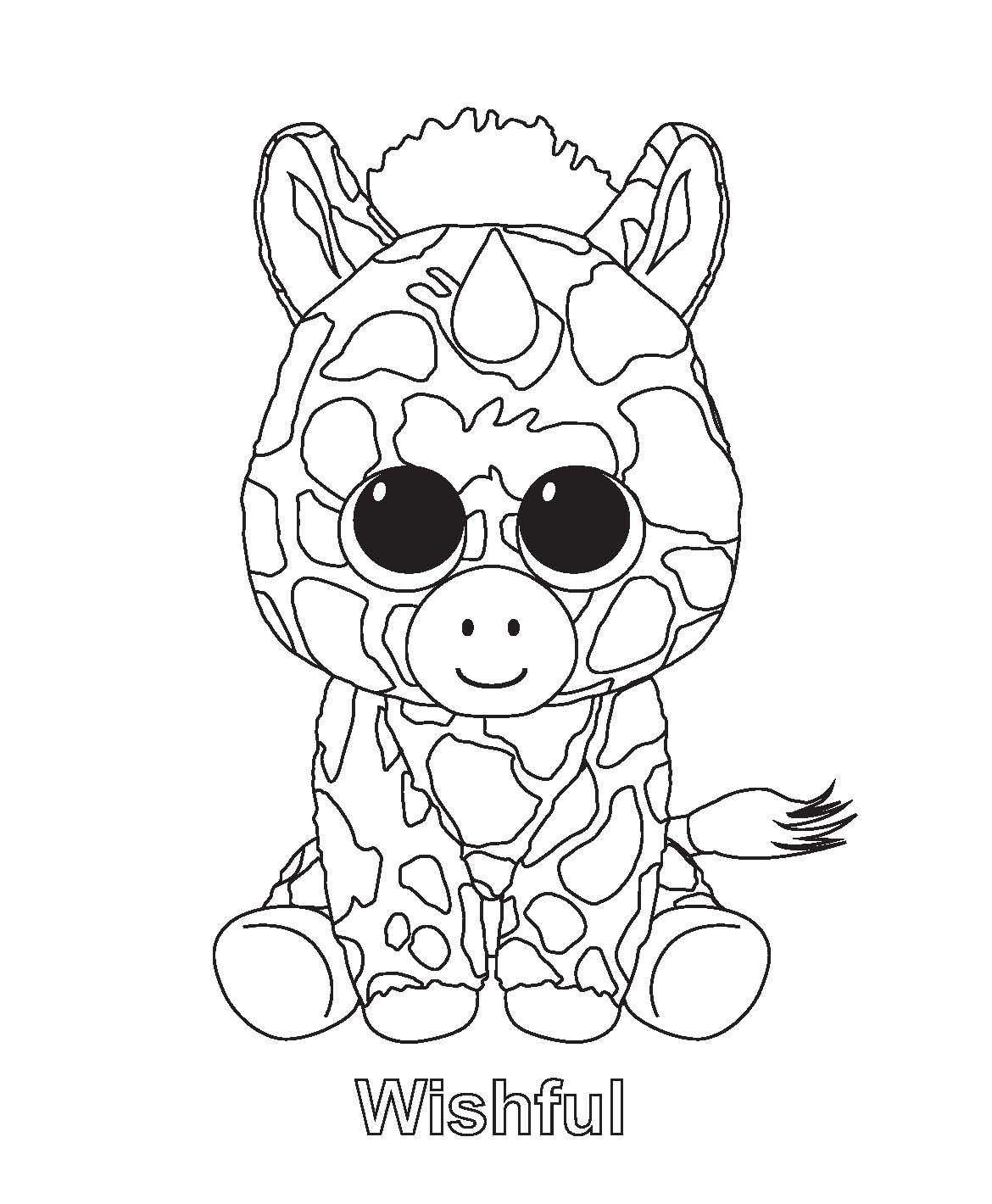 Beanie Boos Coloring Pages Only