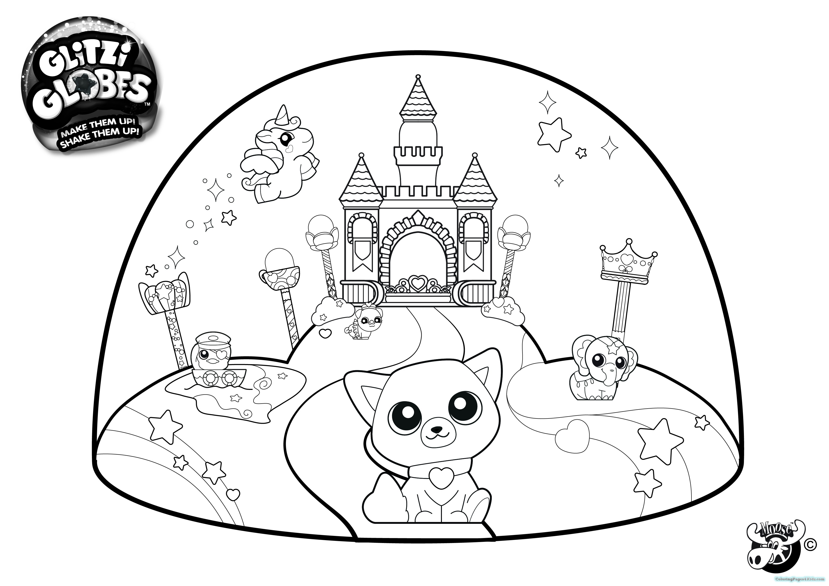 3508x2480 Beanie Boos Coloring Pages Ming Coloring Pages For Kids