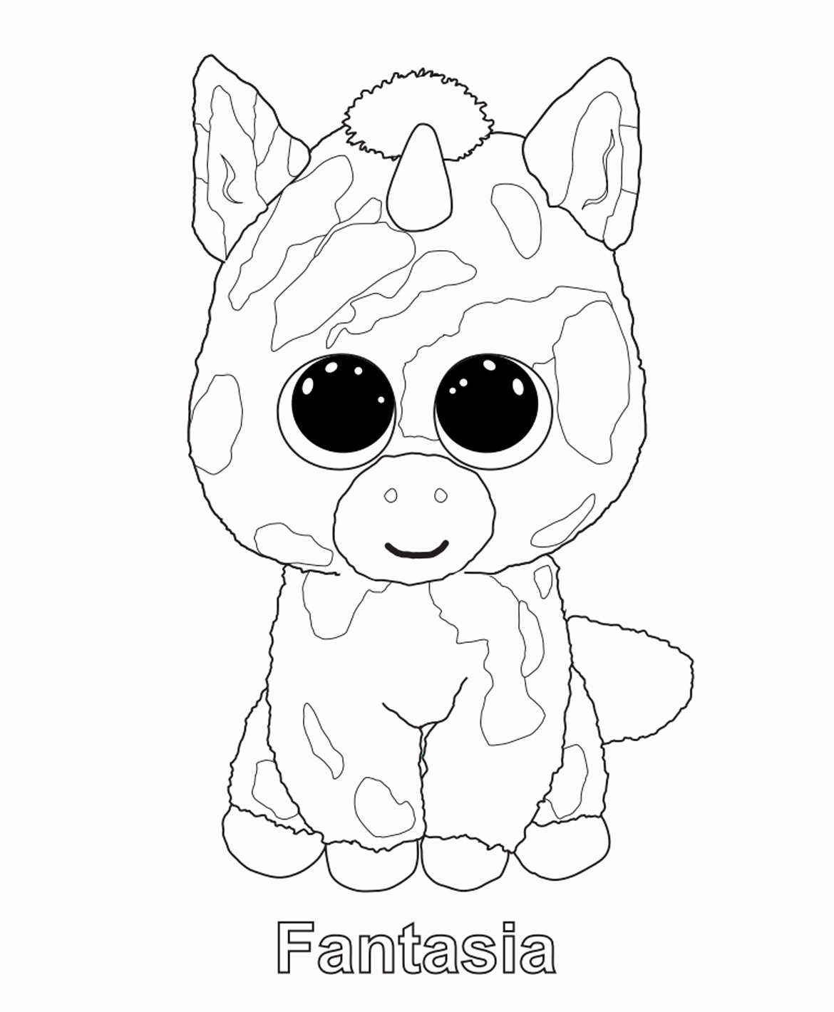 1170x1420 Free Printable Beanie Boo Coloring Pages Stock Boo Coloring Pages