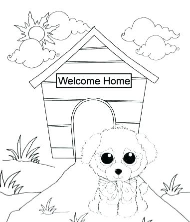 381x445 Beanie Boo Coloring Pages Beanie Boo Coloring Pages Beanie Boo