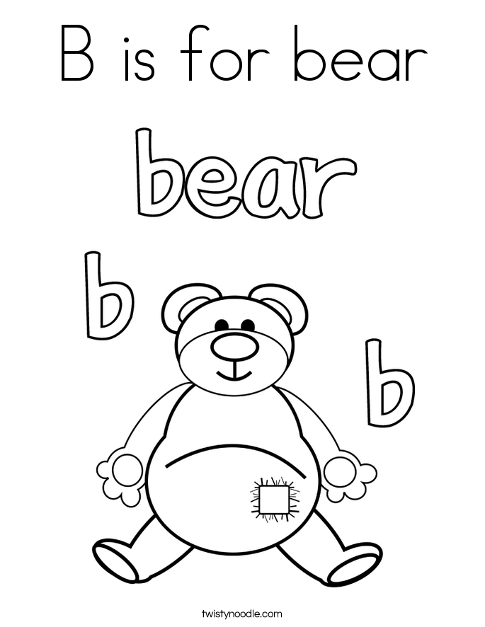 685x886 Bear Coloring Pages