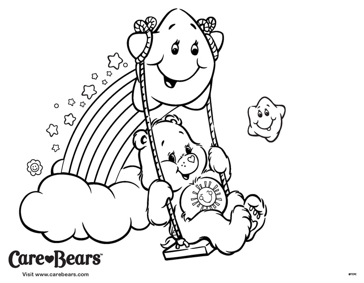 736x572 Mejores De Care Bears Colouring Pages En