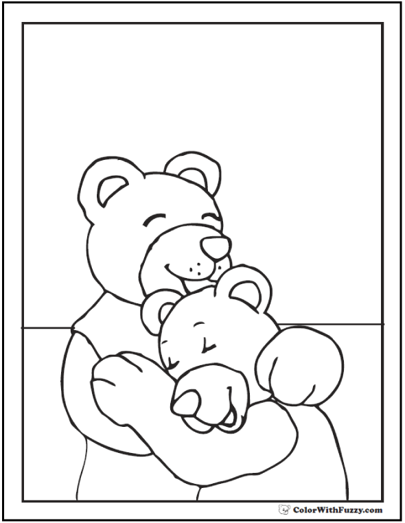 590x762 Teddy Bear Coloring Pages For Fun!