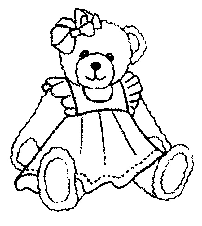 652x731 Free Printable Teddy Bear Coloring Pages Teddy Bear Coloring Pages