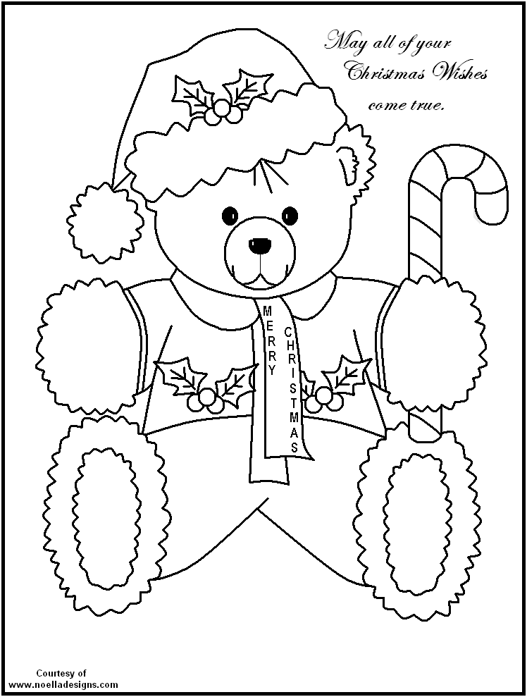 748x989 Free Printable Christmas Coloring Pages