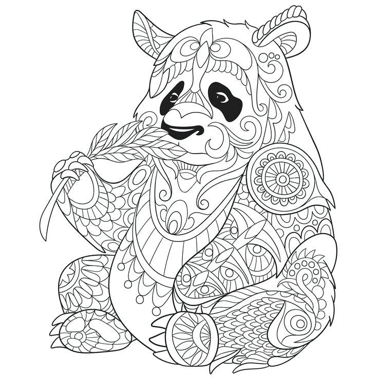 736x736 Panda Bear Coloring Pages Panda Coloring Pages Elegant Panda Bear