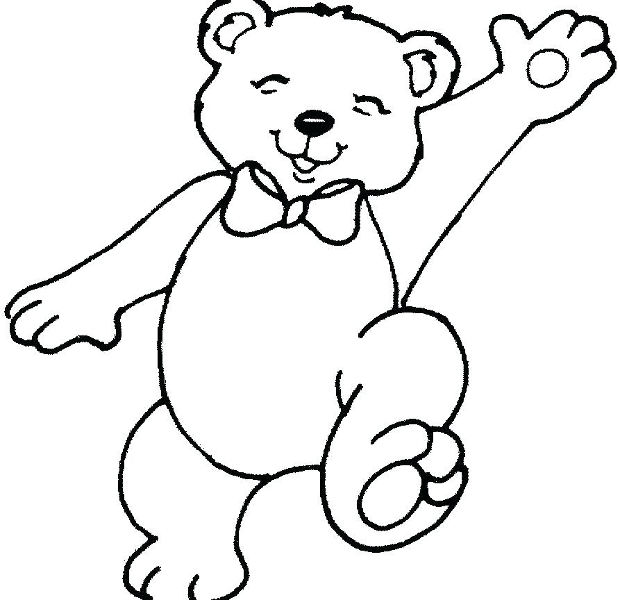 Bear Coloring Pages For Adults At Getdrawings Com Free For