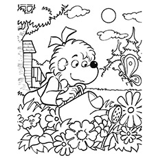 230x230 Top Free Printable Berenstain Bears Coloring Pages Online