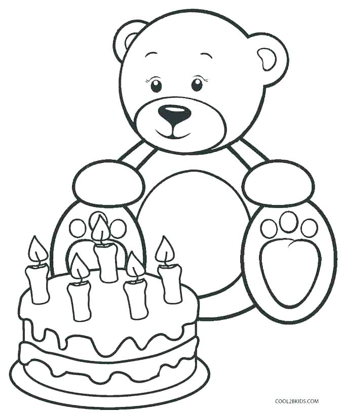 Bear Coloring Pages For Kids At Getdrawings Com Free For Personal