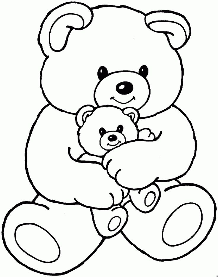 Bear Coloring Pages Preschool