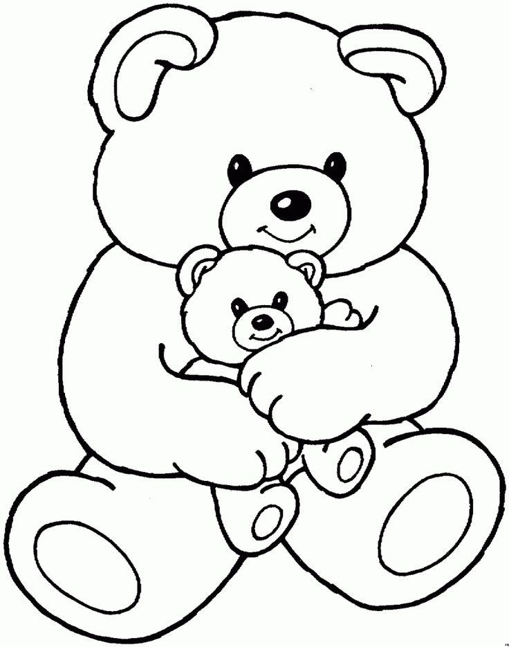 Bear Coloring Pages Preschool