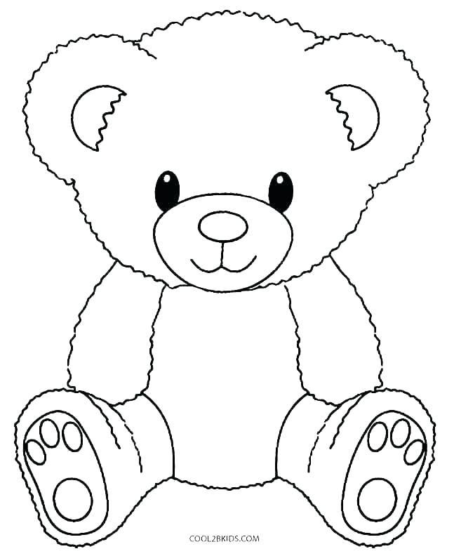647x792 Brown Bear Brown Bear Coloring Pages Brown Bear Preschool Teddy