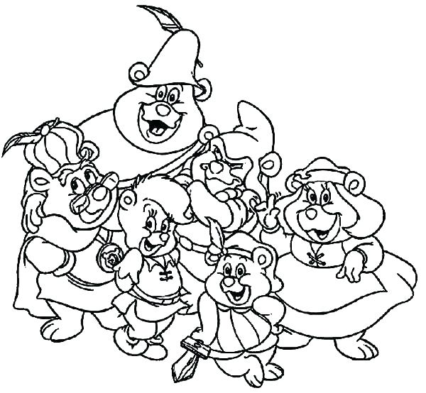 600x554 Gummy Bear Coloring Page Gummy Bear Coloring Page Bears Coloring