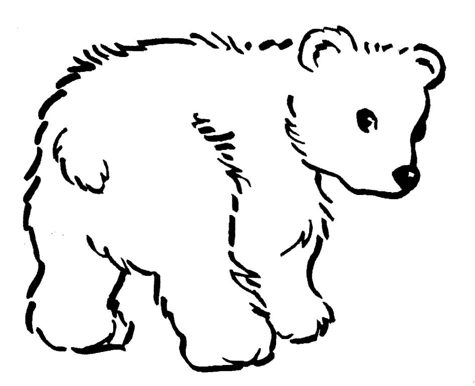 948x772 Polar Bear Coloring Pages Print Color Craft Printable Of Bears