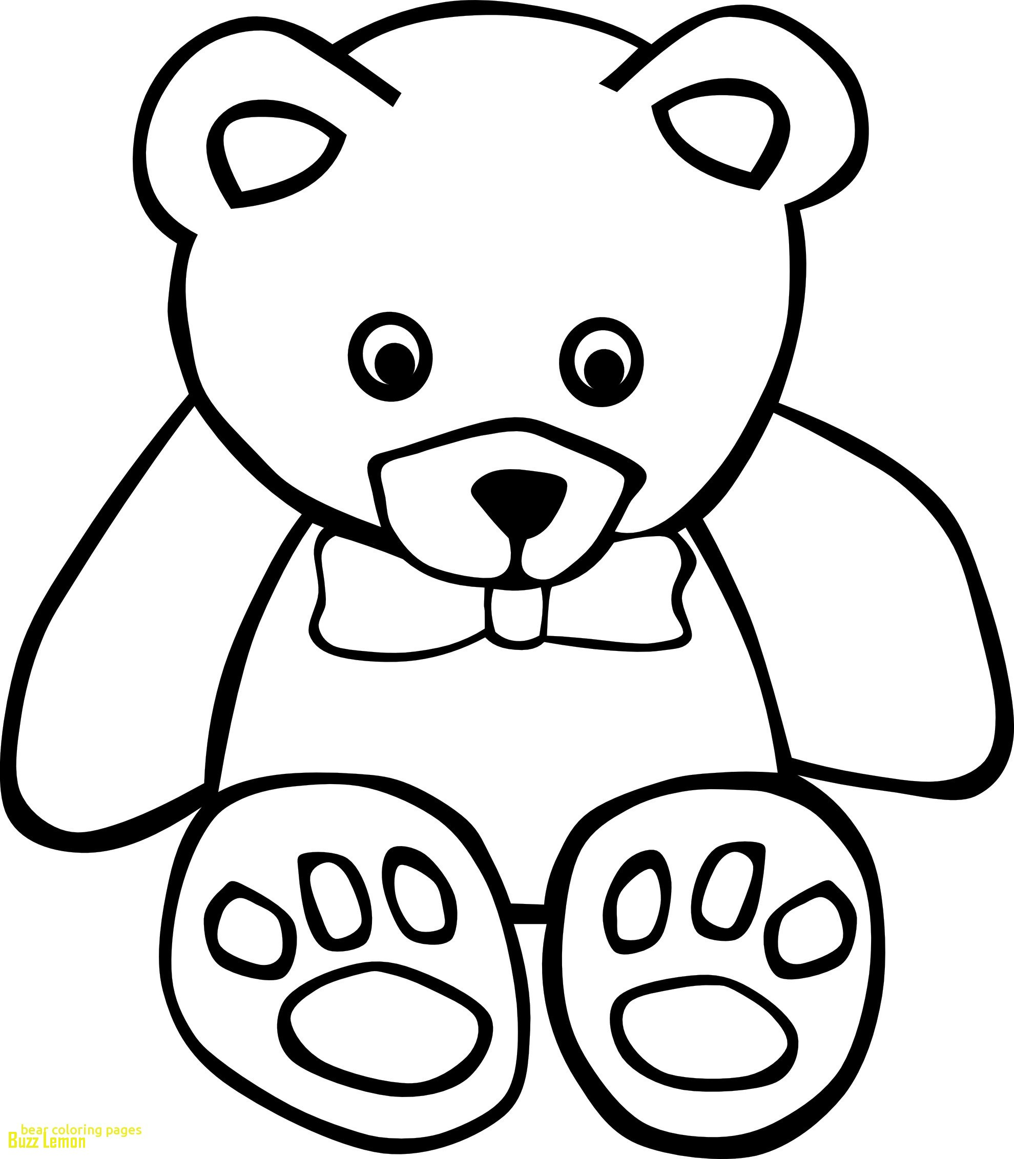 1979x2263 Beautiful Coloring Page Teddy Bear Buzz Coloring