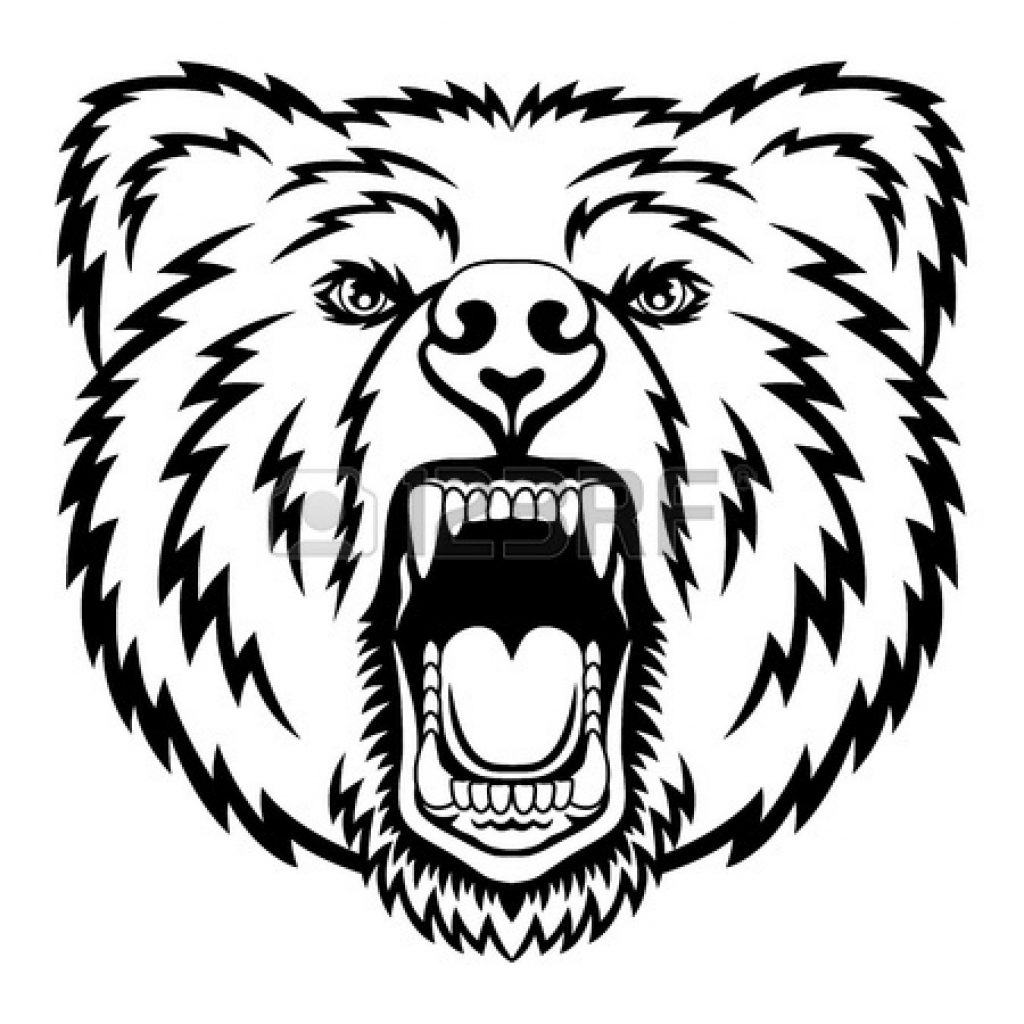 1024x1024 Coloring Pages And Coloring Books Bear Face Coloring Page