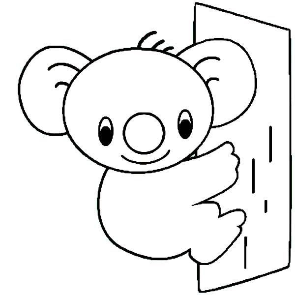 600x600 Cute Bear Coloring Pages