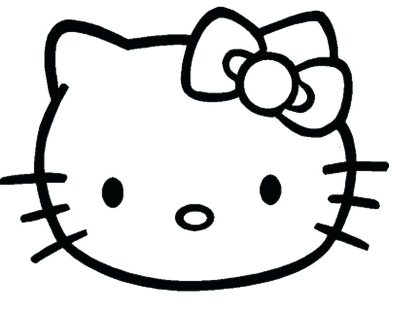 829x644 Face Coloring Pages Bear Face Coloring Page Animal Faces Coloring