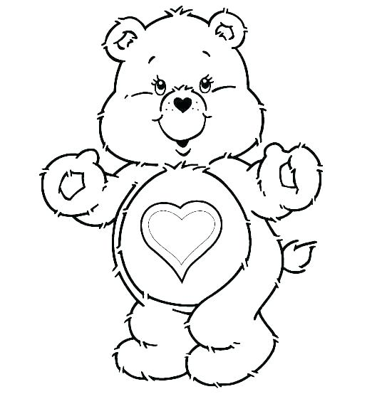 529x554 Coloring Page Of A Bear Family Tree Coloring Page Bear Family Free