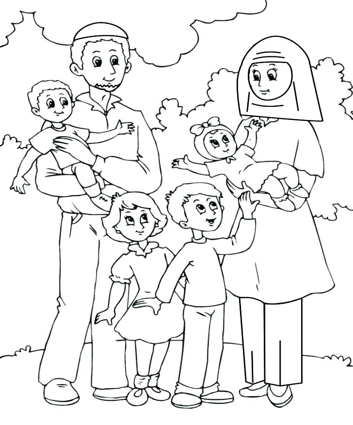 728x875 Holy Family Coloring Pages Printable Family Coloring Pages Bear
