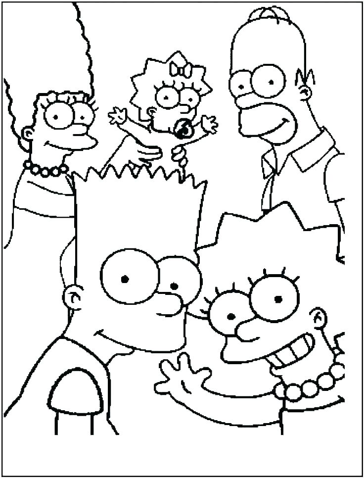 736x966 Family Coloring Pages