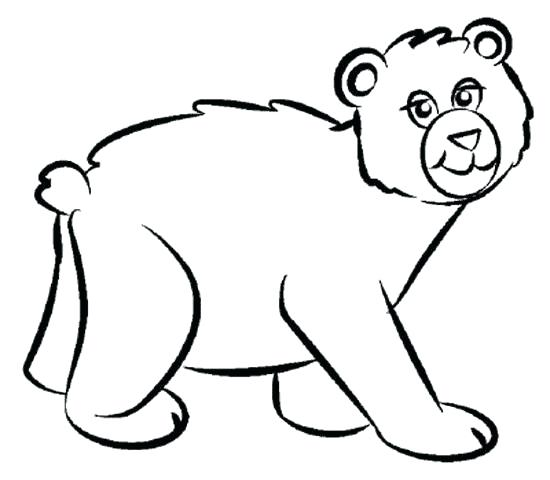 550x480 Bear Family Coloring Pages Black Bears Coloring Pages Bear Family