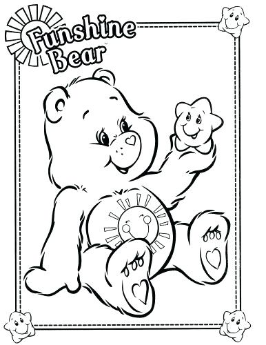 386x500 Bear Family Colouring Pages Coloring Page Outline