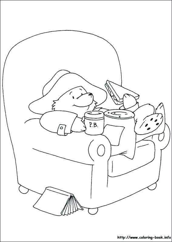 567x794 Coloring Page Of A Bear Coloring Page Beard