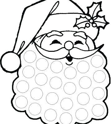 357x400 Coloring Page Santa Beard Coloring Page Free Coloring Pages Santa