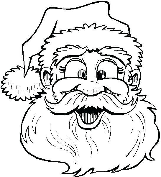 546x600 Kids N Coloring Pages Of Santa Suit Color Page Santa Color Page