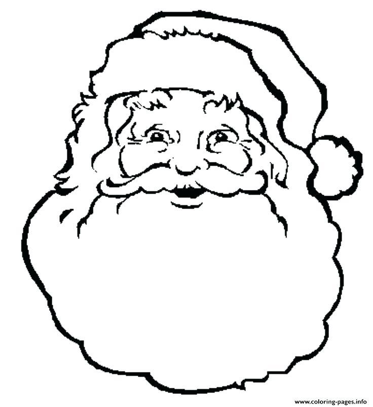 736x803 Santa Beard Coloring Page Coloring Pages Free Santa Beard
