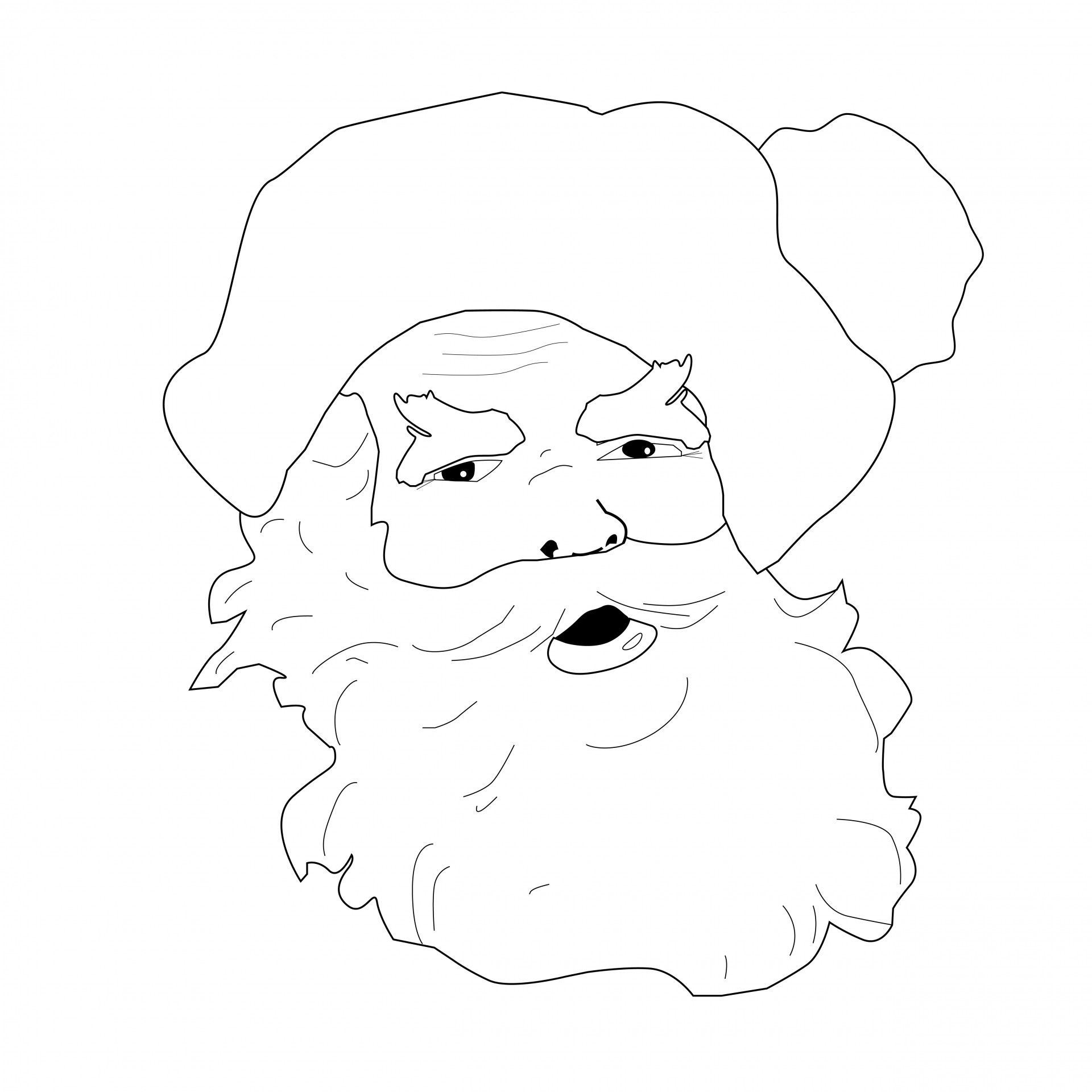The Best Free Beard Coloring Page Images Download From 38 Free