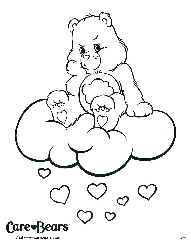 736x946 Care Bears Coloring Books And Teddy Bear Printable Coloring Pages