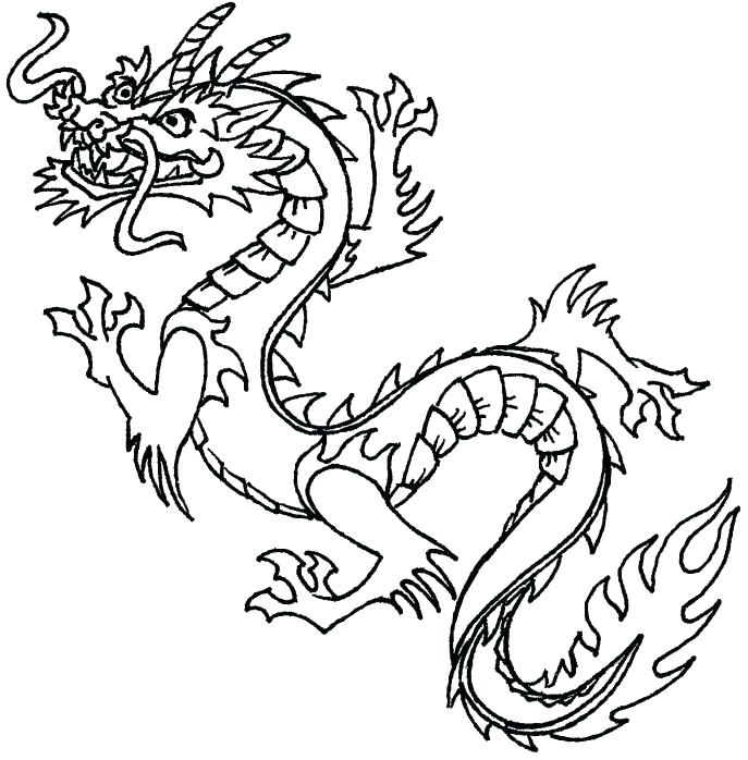 687x698 Elegant Bearded Dragon Coloring Pages And Dragon Coloring Pages