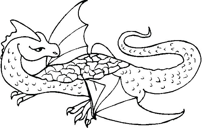 666x421 Free Dragon Coloring Pages I On Astonishing Bearded Dragon