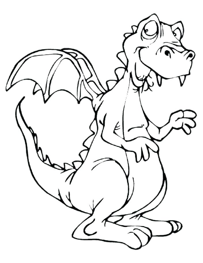705x912 Z Coloring Pages Excellent Dragon Pictures To Color No Bearded