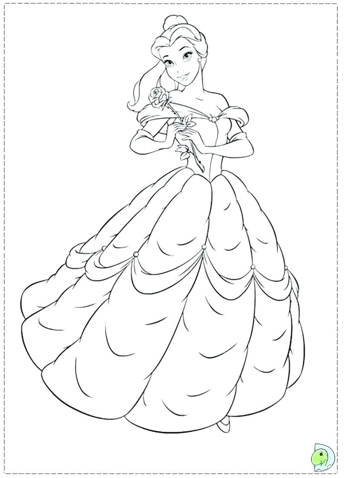 691x960 Beauty And The Beast Coloring Pages Beauty And The Beast Coloring
