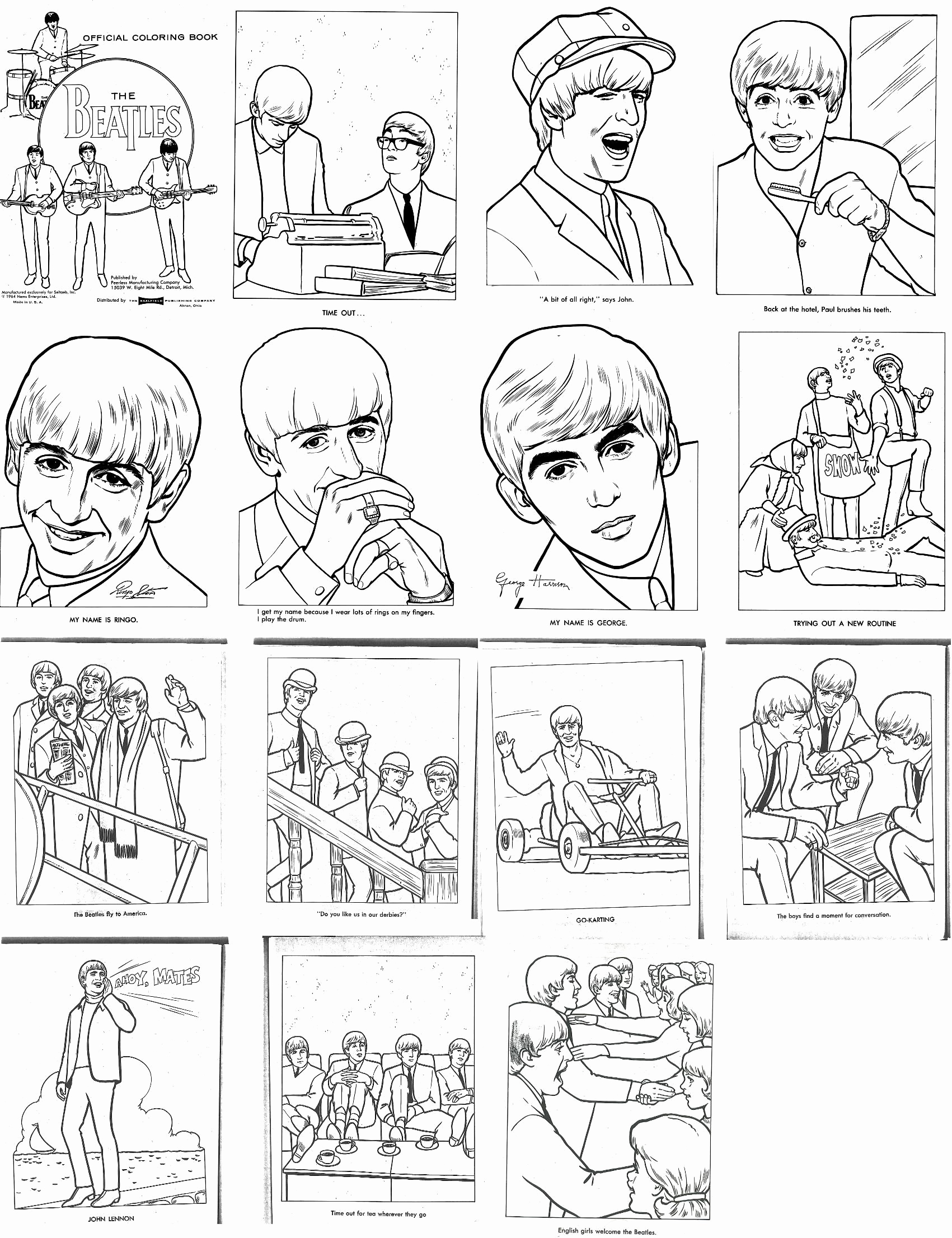 1701x2212 Google Coloring Pages Inspirational The Beatles Coloring Book