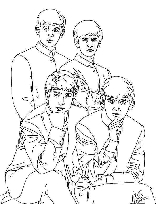 600x776 Adult Coloring Books Beatles