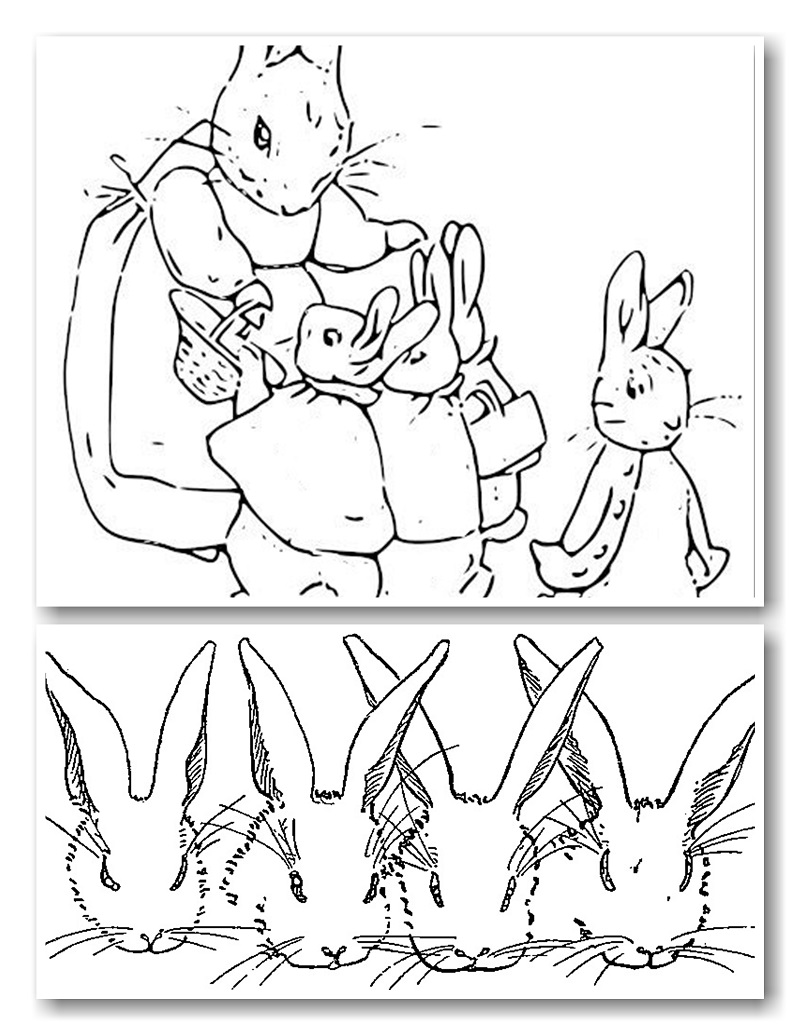 800x1035 Beatrix Potter Coloring Pages