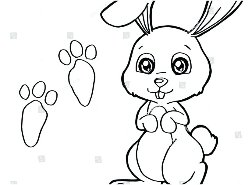 827x609 Coloring Pages Rabbit Free Rabbit Coloring Pages Free Printable