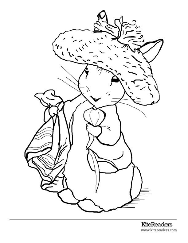 612x792 Beatrice Potter Coloring Pages