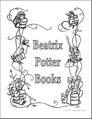 304x392 Beatrix Potter Books Sign I Abcteach