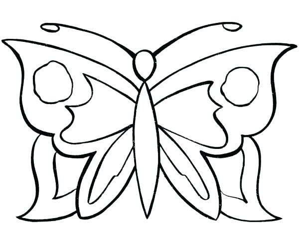 600x490 Butterfly Coloring Pics Epic Butterfly Color Pages About Remodel